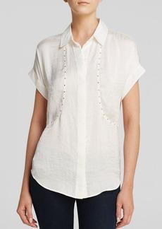 MICHAEL Michael Kors Stud Front Shirt