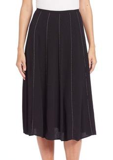 MICHAEL MICHAEL KORS Studded Flared Skirt
