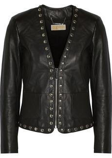 MICHAEL Michael Kors Studded leather jacket