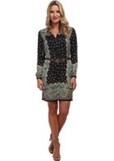 MICHAEL Michael Kors Studded Paisley L/S Dress