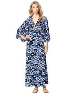 MICHAEL Michael Kors Studded Printed Maxi Dress, Women's