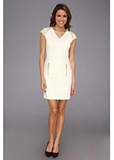 MICHAEL Michael Kors Studded Sleeve Ponte Dress