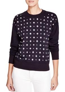 MICHAEL Michael Kors Studded Sweatshirt - Bloomingdale's Exclusive