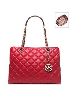MICHAEL Michael Kors® Susannah Quilted Leather Large Tote