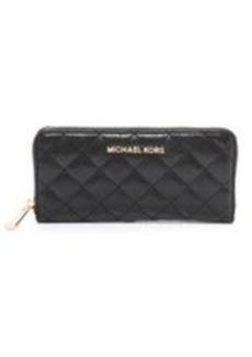 MICHAEL Michael Kors Susannah Zip Around Continental Wallet