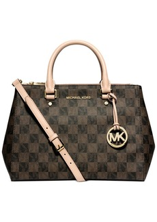 MICHAEL Michael Kors Sutton Checkerboard Medium Satchel