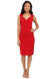 MICHAEL Michael Kors Sweetheart Neck Dress