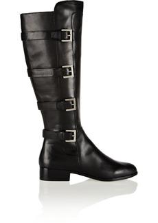 MICHAEL Michael Kors Tamara leather knee biker boots