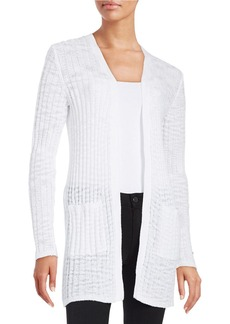 MICHAEL MICHAEL KORS Textured Long Sleeved Cardigan