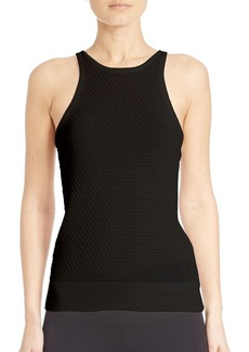 MICHAEL MICHAEL KORS Textured Racerback Sleeveless Sweater