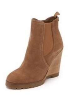 MICHAEL Michael Kors Thea Suede Wedge Booties