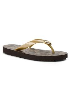 MICHAEL Michael Kors Thong Sandals - MK Logo