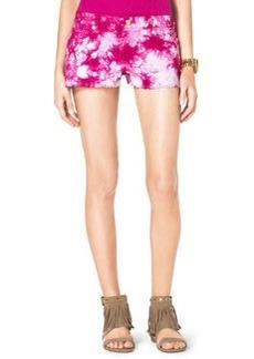 MICHAEL Michael Kors Tie-Dye Cutoff Shorts