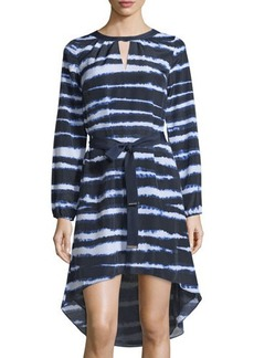 MICHAEL Michael Kors Tie-Dye Stripe Caftan Dress