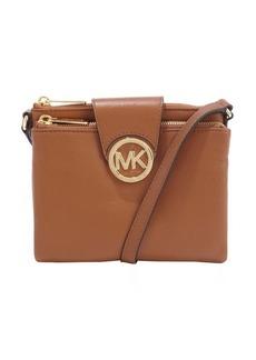 MICHAEL Michael Kors toffee leather double shoulder bag
