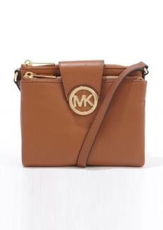 MICHAEL Michael Kors toffee leather double shoulder bag