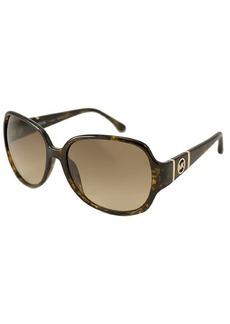MICHAEL Michael Kors Tortoise rectangular plastic Grayson sunglasses