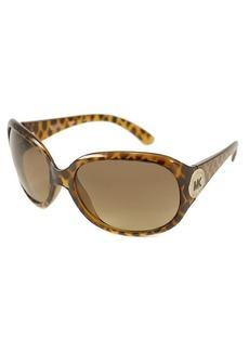MICHAEL Michael Kors Tortoise rectangular plastic M3609S sunglasses