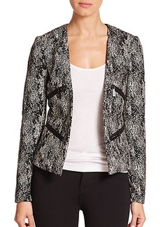 MICHAEL MICHAEL KORS Tweed Zip Jacket