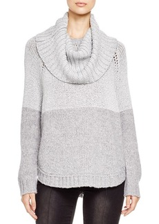 MICHAEL Michael Kors Two-Tone Cowl Sweater