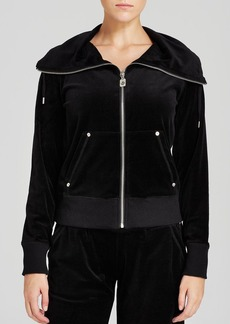 MICHAEL Michael Kors Velour Jacket