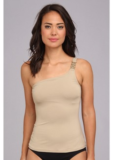 MICHAEL Michael Kors Watch Band One Shoulder Tankini