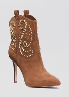 MICHAEL Michael Kors Western Booties - Reena Studded Cowboy