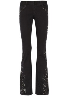 MICHAEL Michael Kors Western embellished mid-rise flared jeans
