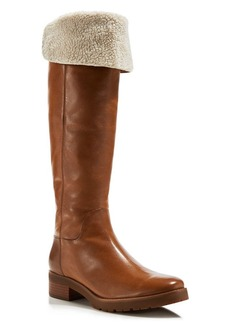 MICHAEL Michael Kors Whitaker Faux-Shearling Fold Over Tall Boots