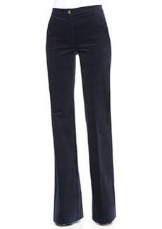 MICHAEL Michael Kors Wide-Leg Twill Trousers