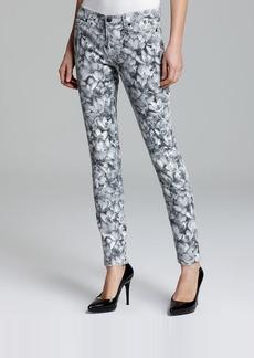 MICHAEL Michael Kors Wildflower Skinny Ankle Jeans