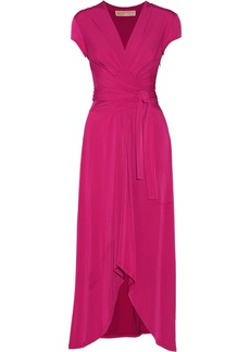 MICHAEL Michael Kors Wrap-effect stretch-jersey maxi dress