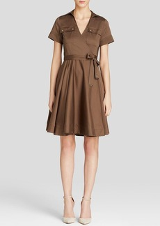 MICHAEL Michael Kors Wrap Shirt Dress