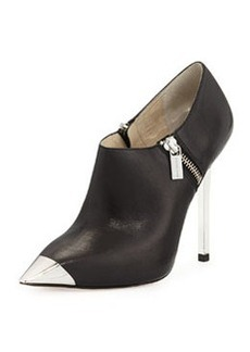 MICHAEL Michael Kors Zady Leather Bootie