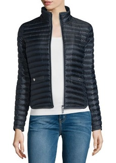 MICHAEL Michael Kors Zip-Front Puffer Jacket