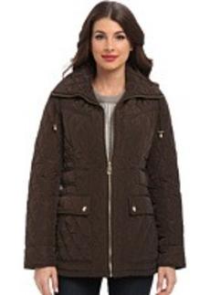 MICHAEL Michael Kors Zip Front Quilt Jacket