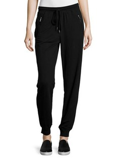 MICHAEL Michael Kors Zip-Pocket Drawstring Lounge Pants