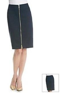MICHAEL Michael Kors® Zip Seamed Skirt