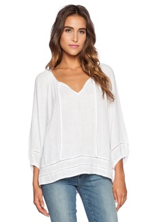 Michael Stars 3/4 Sleeve Boho Top