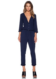 Michael Stars 3/4 Sleeve Jumpsuit