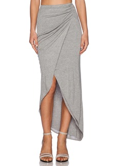 Michael Stars Asymmetrical Drape Skirt