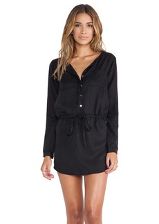 Michael Stars Button Down Shirt Dress