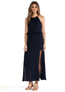 Michael Stars Double Slit Halter Dress