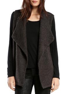 Michael Stars Cozy Wide Collar Sweater Vest