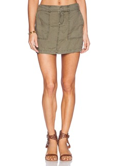 Michael Stars Elastic Waist Mini Skirt