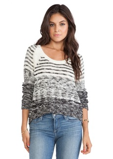Michael Stars Hi-Low Boat Neck Sweater