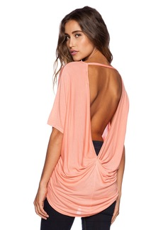 Michael Stars Hi-Low Drape Back Tee