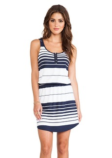 Michael Stars Jenna Sleeveless Dress in Navy