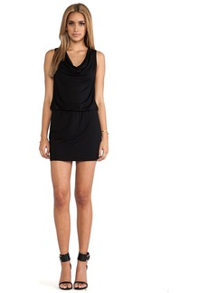 Michael Stars Katie Sleeveless Drape Neck Dress