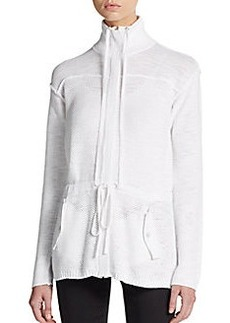 Michael Stars Knit Cotton Anorak